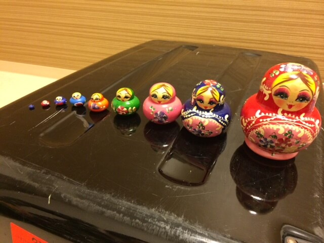 Matryoshka Dolls from Russia