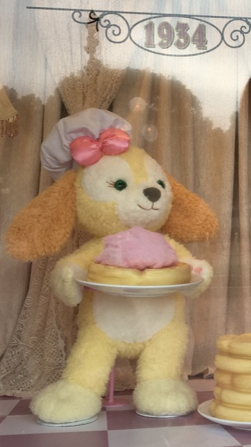 Cookie the dog, the character only available in Hong Kong Disneyland