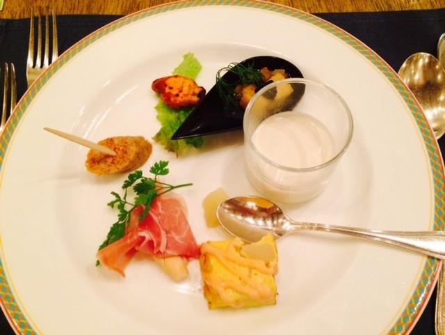 スペイン料理コースディナー
