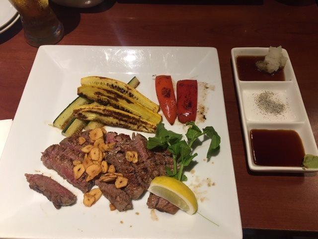 東京白金の名店「甚六」のハワイ店でステーキを食べました
