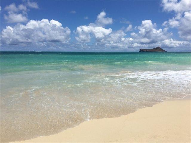 息をのむ美しさが目の前に広がりました「Waimanalo-Beach」
